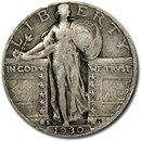 1930-S Standing Liberty Quarter Good/VG