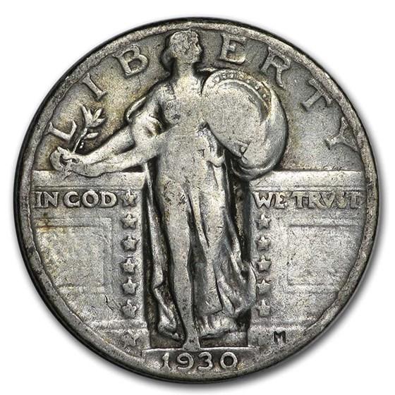 1930 Standing Liberty Quarter Fine