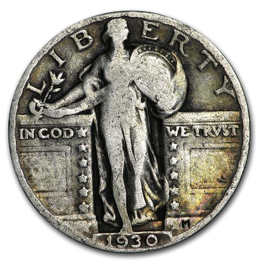 1930 Standing Liberty Quarter Good/VG