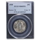 1930 Standing Liberty Quarter MS-65 PCGS (FH)