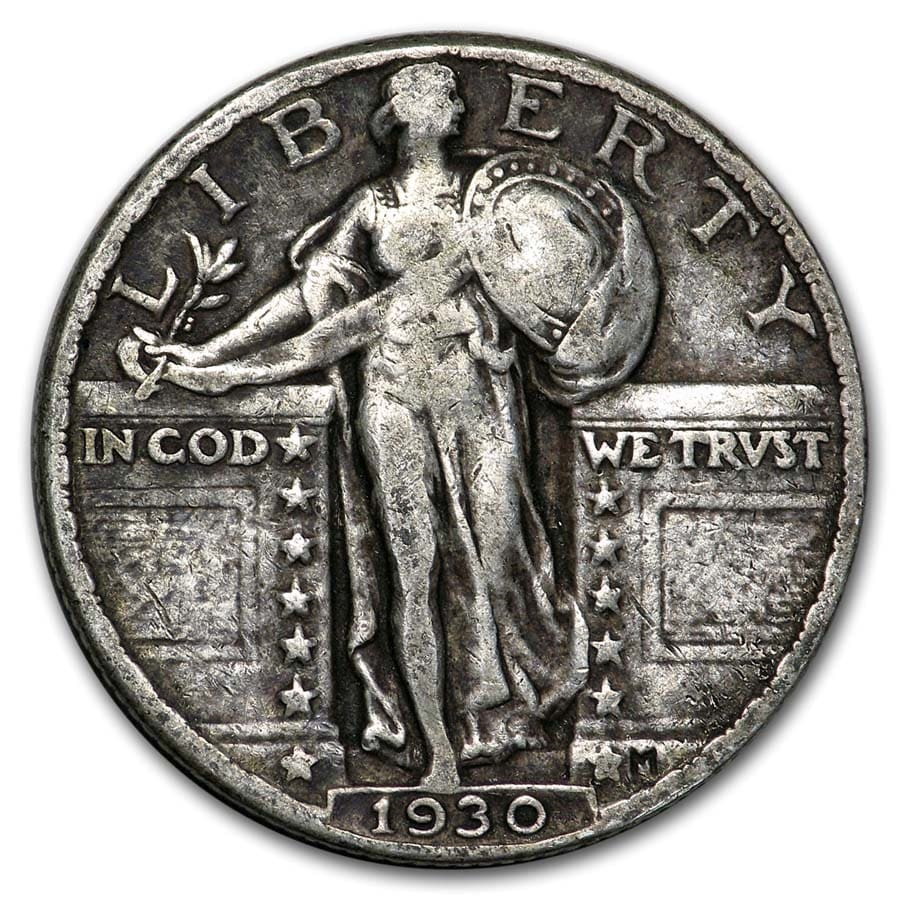 1930 Standing Liberty Quarter VF