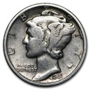 1931 Mercury Dime Good/Fine