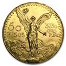 1931 Mexico Gold 50 Pesos BU