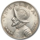 1931 Panama Silver Balboa XF