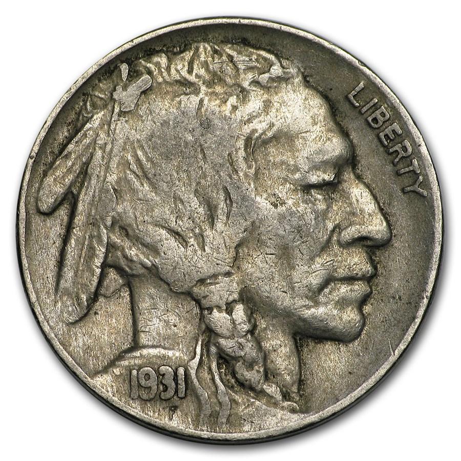 1931-S Buffalo Nickel Fine