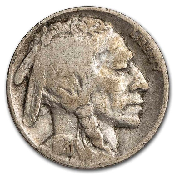 1931-S Buffalo Nickel Good
