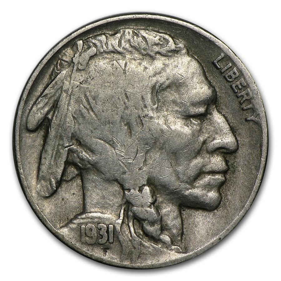 1931-S Buffalo Nickel VF
