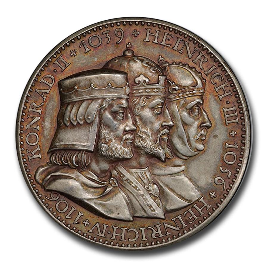 1932-A Germany Weimar Republic Silver 5 Reichsmark PR-63 PCGS