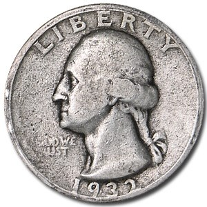1932-D Washington Quarter Good