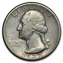 1932-D Washington Quarter VF