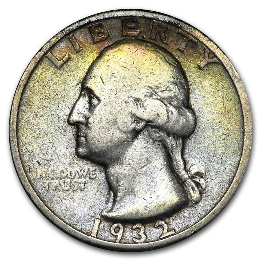 1932-D Washington Quarter VG