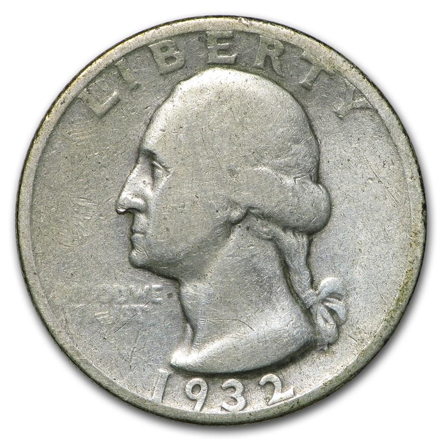 1932-S Washington Quarter Fine