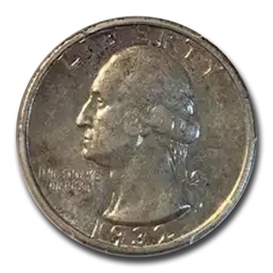 1932-S Washington Silver Quarter AU-53 PCGS