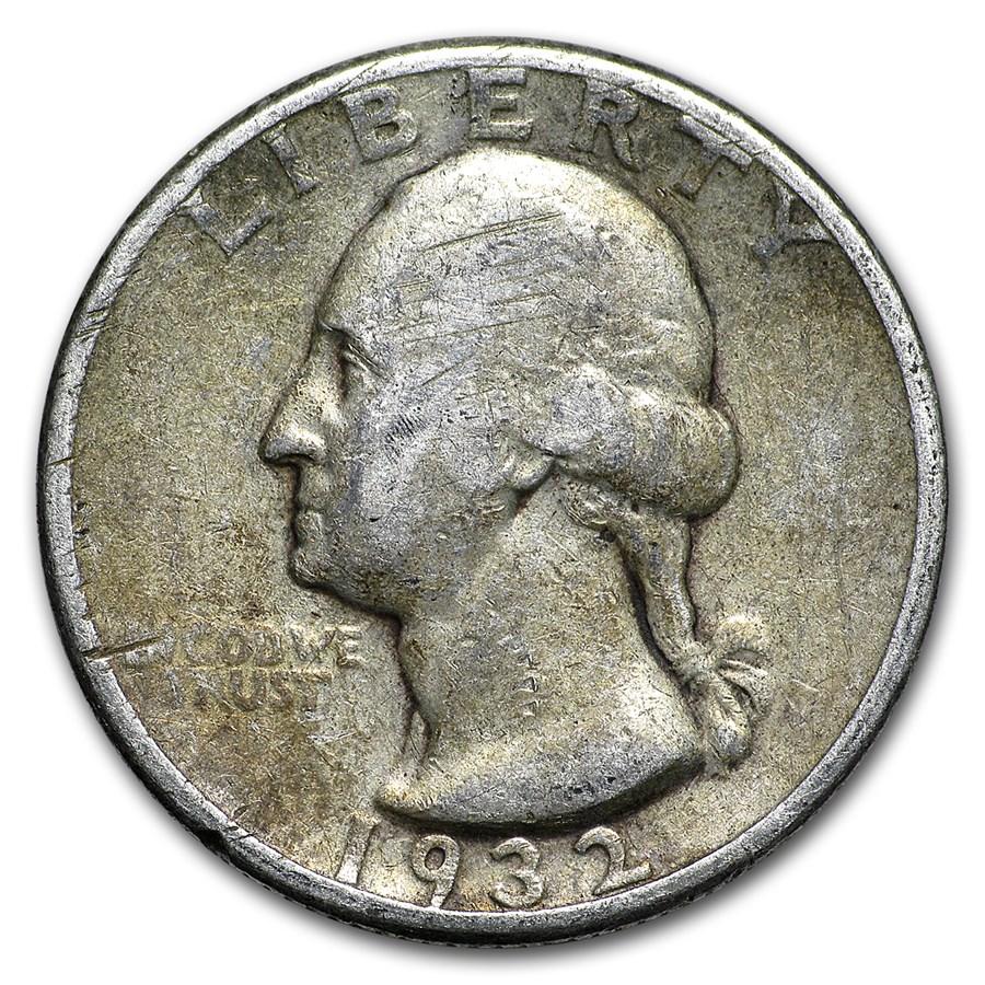 1932 Washington Quarter Good/Fine