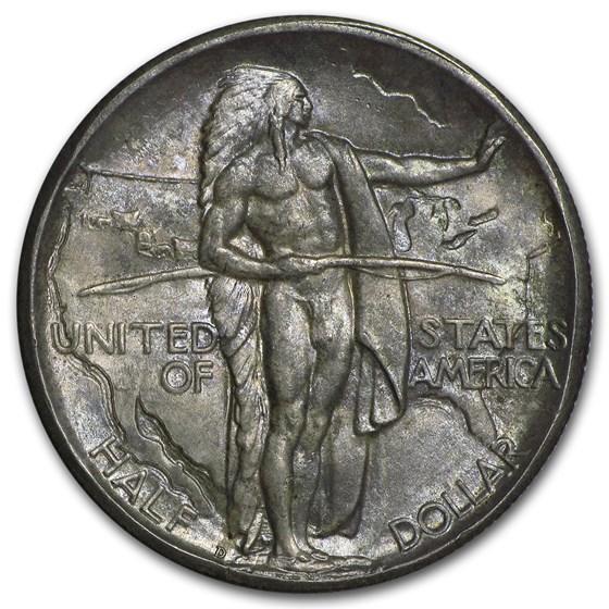 1933-D Oregon Trail Memorial Half Dollar Commem Half BU