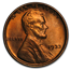 1933 Lincoln Cent BU (Red/Brown)