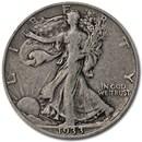1933-S Walking Liberty Half Dollar Fine
