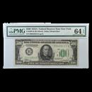 1934-A (B-New York) $500 FRN CU-64 EPQ PMG (Fr#2202-B)