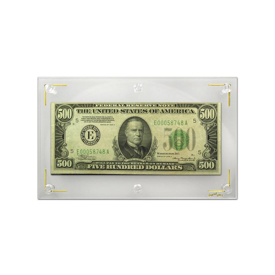 1934-A (E-Richmond) $500 FRN VF+ (Mule)