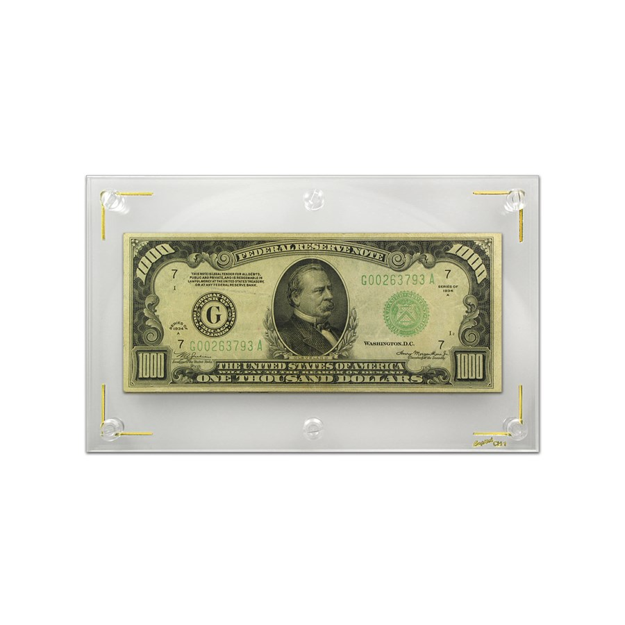 1934-A (G-Chicago) $1,000 FRN VF