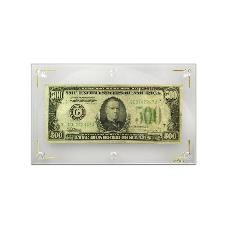 1934-A (G-Chicago) $500 FRN Fine+
