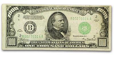 1934 (B-New York) $1,000 FRN VF (Mule)