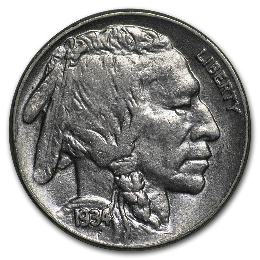 1934 Buffalo Nickel BU