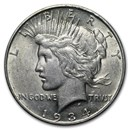 1934-D Peace Dollar XF