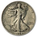 1934-D Walking Liberty Half Dollar VG/VF