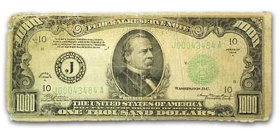 1934 (J-Kansas City) $1,000 FRN VG Details