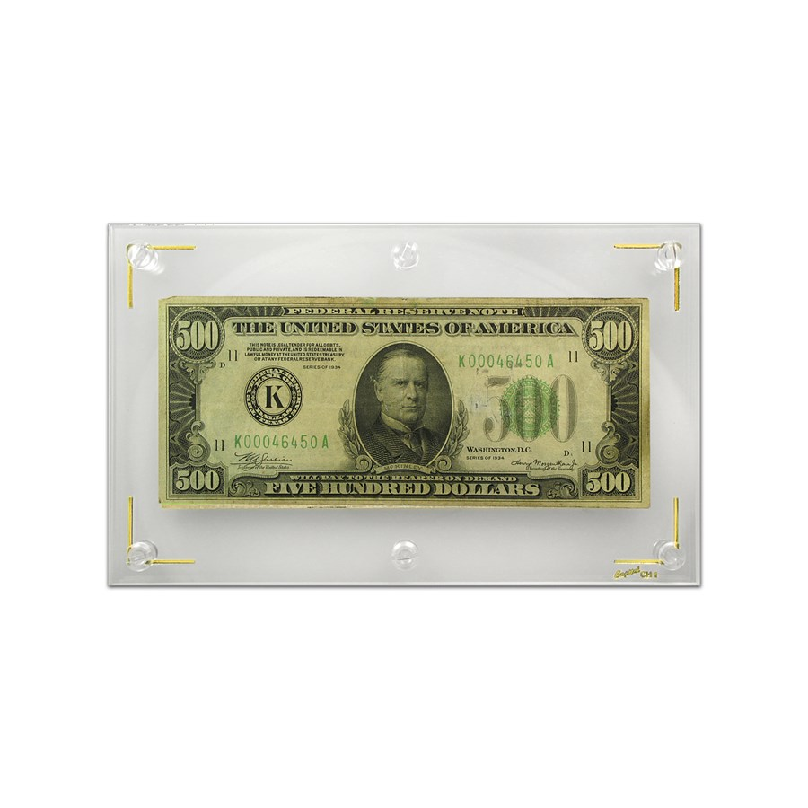 1934 (K-Dallas) $500 FRN VF