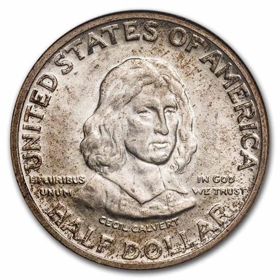 1934 Maryland Tercentenary Half Dollar MS-64 NGC