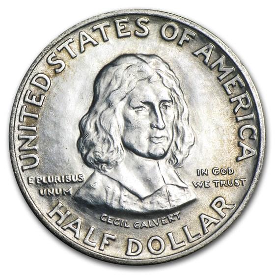 1934 Maryland Tercentenary Silver Half Dollar BU