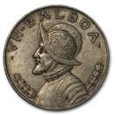 1934 Panama Silver Balboa XF
