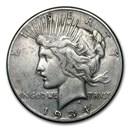 1934-S Peace Dollar Fine