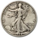 1934-S Walking Liberty Half Dollar VG/VF