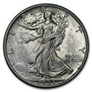 1934 Walking Liberty Half Dollar AU