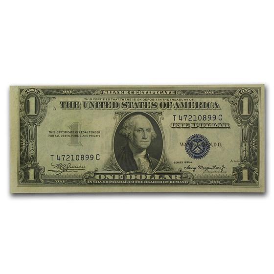 1935-A $1.00 Silver Certificate CU (Fr#1608)