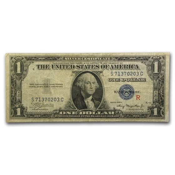 1935-A $1.00 Silver Certificate VF (Fr#1609) R-Experimental
