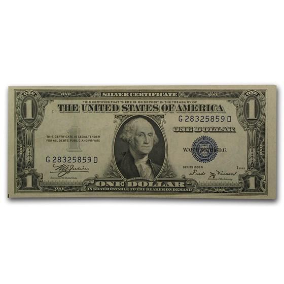 1935-B $1.00 Silver Certificate CU (Fr#1611)