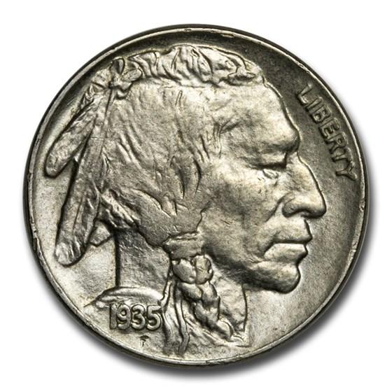 1935 Buffalo Nickel Choice AU