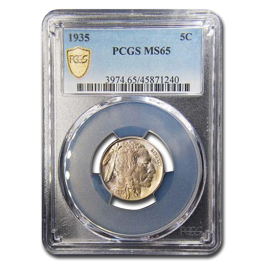 1935 Buffalo Nickel MS-65 PCGS