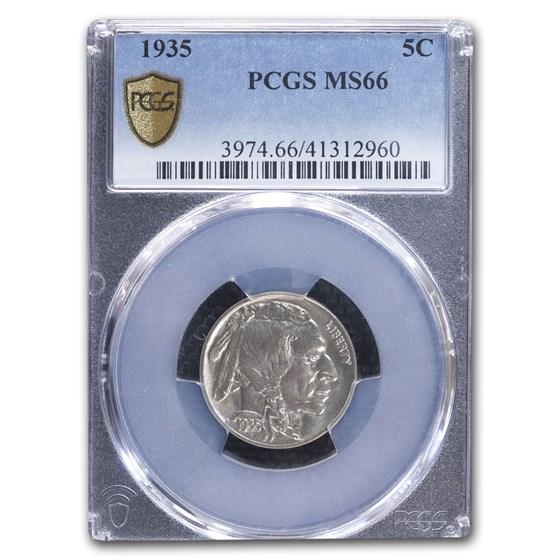 1935 Buffalo Nickel MS-66 PCGS