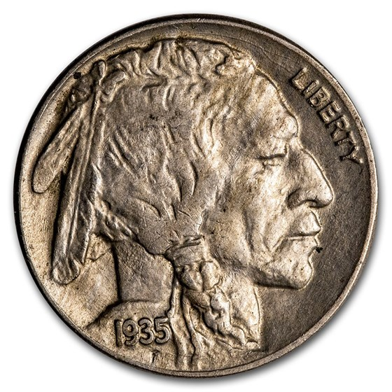 1935 Buffalo Nickel XF