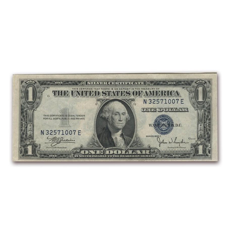 1935-C $1.00 Silver Certificate CCU (Fr#1612)
