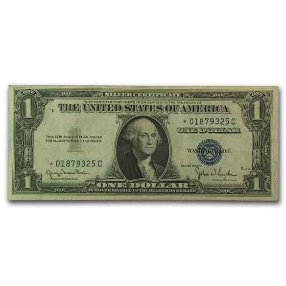 1935-D* $1.00 Silver Certificate VF (Scarce *-C Block)