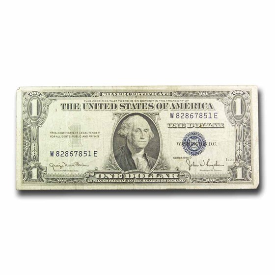 1935-D $1.00 Silver Certificate VG/F (Fr#1613)