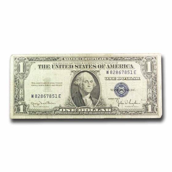 1935-D $1.00 Silver Certificate VG/F (Fr#TBD)