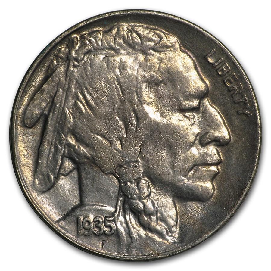 1935-D Buffalo Nickel BU