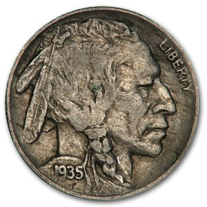 1935-D Buffalo Nickel VF
